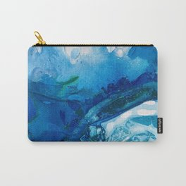 Deep Blue Ocean Life Carry-All Pouch