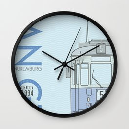 Trams of the World - Cracov Wall Clock