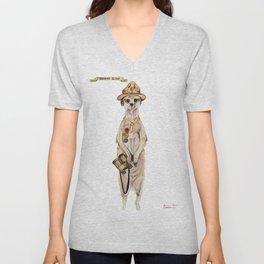 Meerkat Scout Unisex V-Neck
