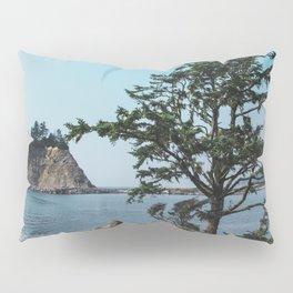 Pacific Northwest Coast Island and Tree Pillow Sham