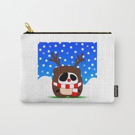 Panda Plopz (Reindeer) Carry-All Pouch