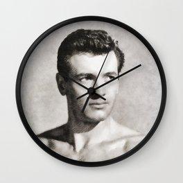Rock Hudson, Vintage Actor Wall Clock