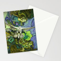 Freedom green Stationery Cards