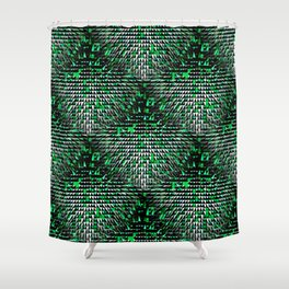 The Snowy Forest.... Shower Curtain