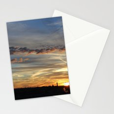 Golden Smoke Stationery Cards