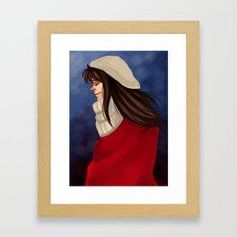 Winter Child Framed Art Print