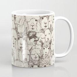 just alpacas natural Coffee Mug