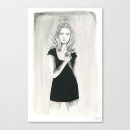 Buffy the Vampire Slayer Canvas Print