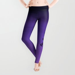 She Who Dares - Indigo Ombre Leggings