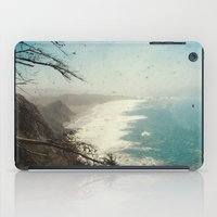 big sur iPad Cases featuring Big Sur - Jagged Edge by Jenndalyn