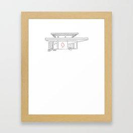 DoD KaLm Framed Art Print