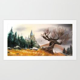 Autumnal magic... Art Print