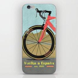Vuelta a Espana Bike iPhone Skin