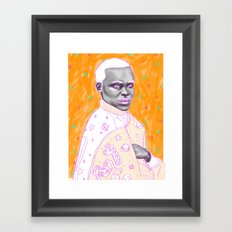 Naranja Framed Art Print