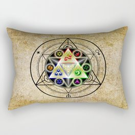 zelda triforce Rectangular Pillow