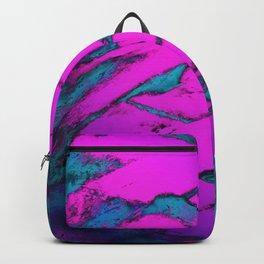 Fractured anger pink Backpack