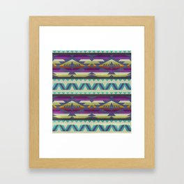 Pattern 4 Framed Art Print