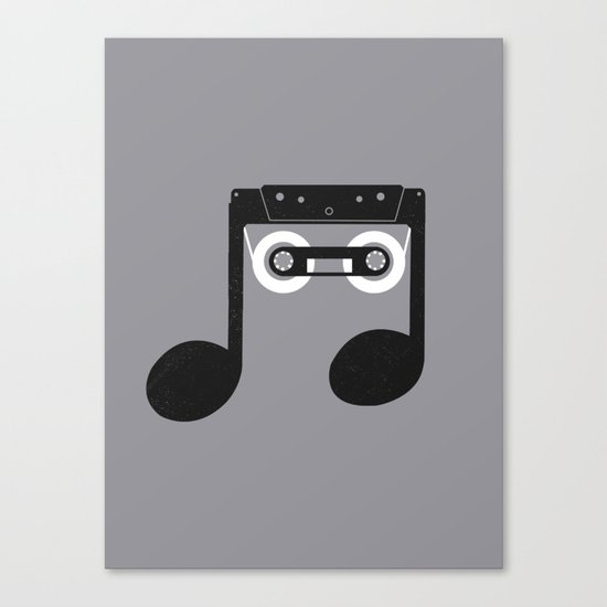 Analog Music Canvas Print