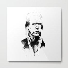 A god, a man, a ghost, a guru Metal Print