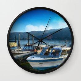 Lake Como Wall Clock