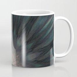 Elegant Feathery Feather Kaleidoscope Mandala  Coffee Mug