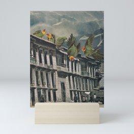 Visitors Mini Art Print