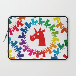 Color Me Rainbow Unicorn Laptop Sleeve