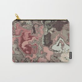 wildflower antique rose Carry-All Pouch