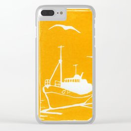 Comrades in Yellow Clear iPhone Case