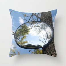 Surveillance Tree #1 Throw Pillow