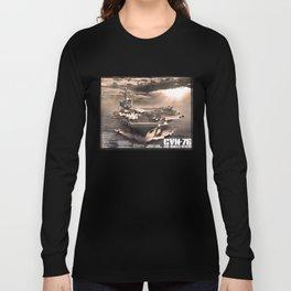 Aircraft carrier Ronald Reagan Long Sleeve T-shirt
