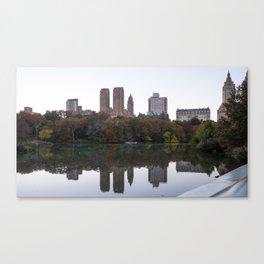 Central Park Fall Series 3 Canvas Print
