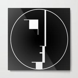 Oskar Schlemmer Bauhaus Logo Metal Print