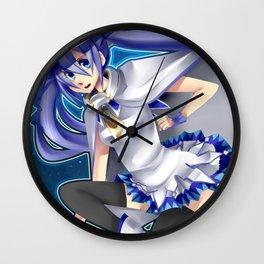 .SnowMiku. Wall Clock