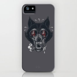 Hungry like the Wolf! iPhone Case