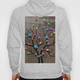 Colorful birds Hoody