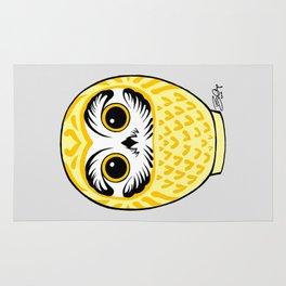 Yellow Fukuro Daruma Rug
