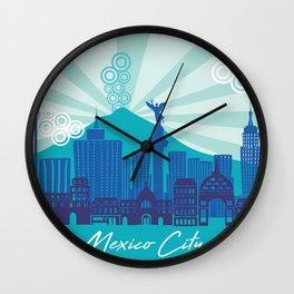 MEXICO CITY Wall Clock