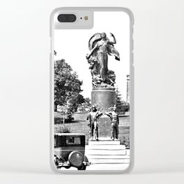 Moses-Ludington Hospital 1930 Clear iPhone Case