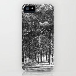 Quiet Woods iPhone Case