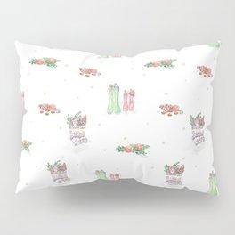 Christmas Boots Pattern Pillow Sham