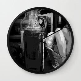 Kitchen Clutter Wall Clock