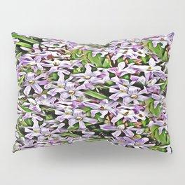 Purple Flowers Galore Pillow Sham