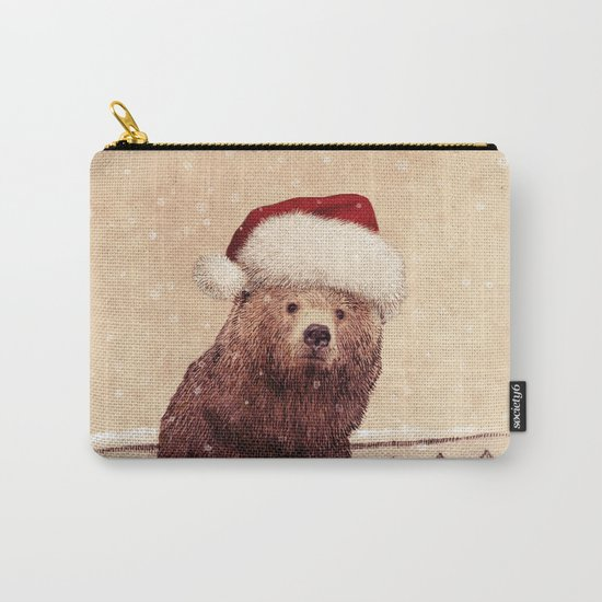 A Barnabus Christmas Carry-All Pouch