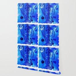 Christmas - Blue D62 Wallpaper