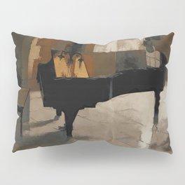 Grand Piano Artwork Pillow Sham