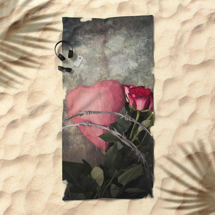 Heartbreak Beach Towel