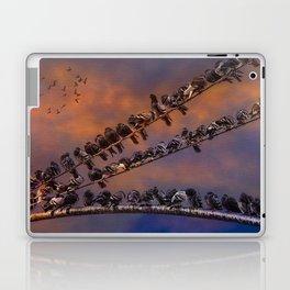 Pigeon Gangs Laptop & iPad Skin