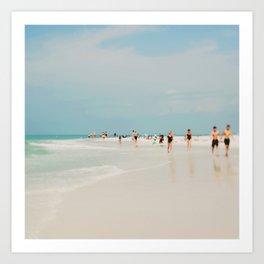 White Sand Art Print