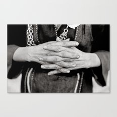 Working Hands Canvas Print